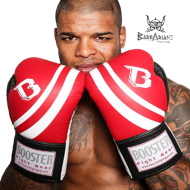 "Gant de boxe Booster Fight Gear ""pro range"" rouge"