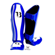 "Protège-tibias Booster Fight Gear ""Range"" bleu"