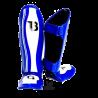"Protège-tibias Booster Fight Gear ""Range"" bleu"