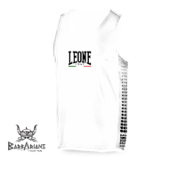 Tee Shirt Boxe Anglaise Leone 1947 Polyester Respirant Blanc