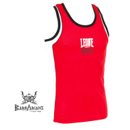 Tee Shirt Boxe Anglaise Leone 1947 Polyester Respirant Rouge