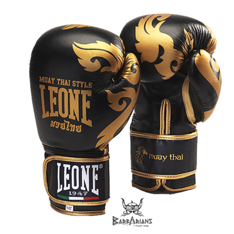 Gant de boxe leone 1947 muay tha noir - Dessin gant de boxe ...