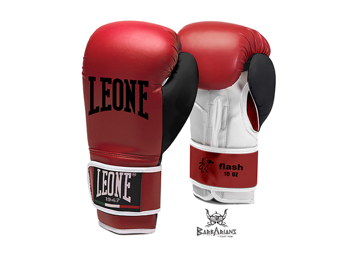gants de boxe leone 1947 flash rouge. Black Bedroom Furniture Sets. Home Design Ideas