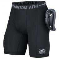 Short compression et coquille intégrée Phantom Athletics