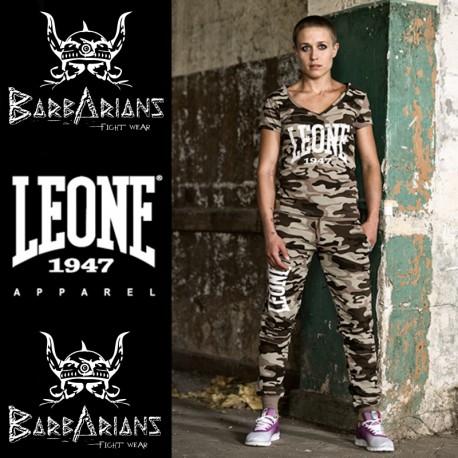 pantalon jogging leone 1947 femme camouflage. Black Bedroom Furniture Sets. Home Design Ideas