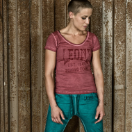 Tee-shirt femme Leone 1947 rose