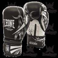 """Gants de boxe Leone 1947 """"Revenge"""" noir"""