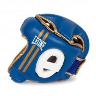 """Casque de boxe Leone 1947 """"Strike"""" bleu"""