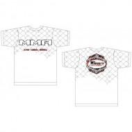 Tee-shirt Twins MMA blanc coton
