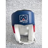 "Casque de boxe Wettle Sport ""Classic"" bleu"