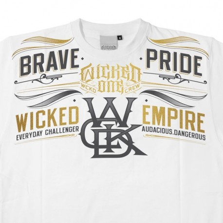 Wicked One Tee-shirt Pride white images, photos, pictures on Tee-Shirt  2013THPR17