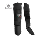Leone 1947 Shinguards Basic Black