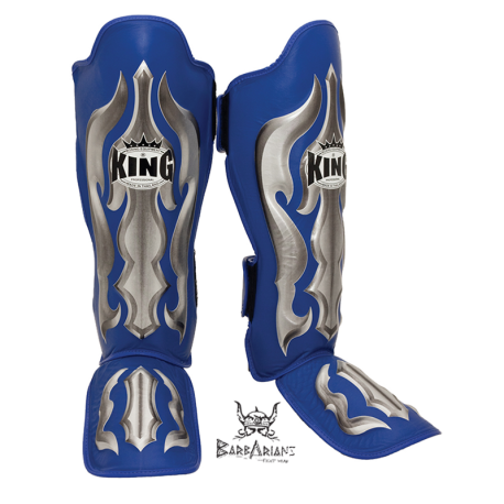 "Shinguards King \""Fantasy 1\\"" blue skintex images, photos, pictures on Old Collection SG-TK-FA02"