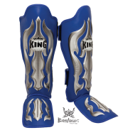 "Shinguards King \""Fantasy 1\\"" blue skintex images, photos, pictures on Shinguards SG-TK-FA02"