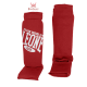 Leone 1947 shinguards cotton red images, photos, pictures on Shinguards PT133