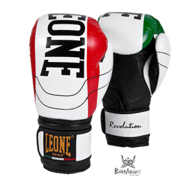 "Leone 1947 Boxing gloves ""Revolution"" white"""