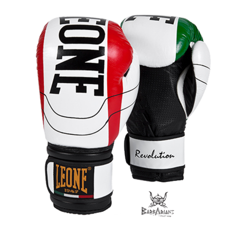 "Leone 1947 Boxing gloves \""Revolution\\"" white\\"" images, photos, pictures on Boxing Gloves GN025"