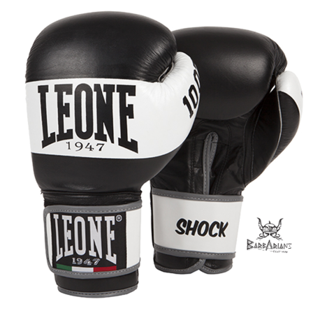 Leone 1947 Boxing gloves Shock black leather images, photos, pictures on Boxing Gloves GN047