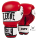 "Leone 1947 Boxing gloves \""Shock\\"" red leather images, photos, pictures on Boxing Gloves GN047"