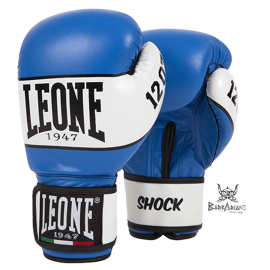 "Leone 1947 Boxhandschuhe ""Shock"" blaü Leder"