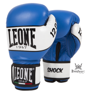 "Leone 1947 Boxing gloves ""Shock"" blue  leather"