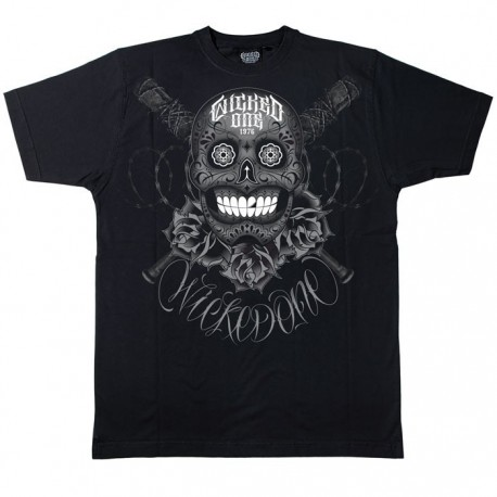 Wicked One Tee-shirt Big Skull black images, photos, pictures on Old Collection 2013THBS