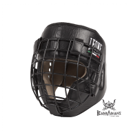 "Leone 1947 Headguard ""Fighter "" black"