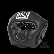 """Photo de Casque de boxe Leone 1947 \\""""Junior\\"""" Noir pour Casque de boxe CS429"""