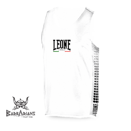 Leone 1947 Boxing Tee-Shirt Polyester breathable white images, photos, pictures on Tee-Shirt Boxe Anglaise AB726