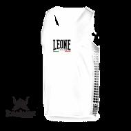 Photo de Tee Shirt Boxe Anglaise Leone 1947 Polyester Respirant Blanc pour Tee-Shirt Boxe Anglaise AB726