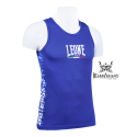 Leone 1947 Boxing Tee-Shirt Polyester breathable Blue