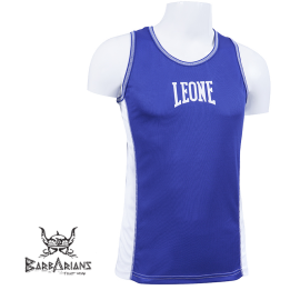 Boxing Tee-Shirt Leone 1947 blue Polyester breathable