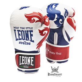 "Leone 1947 Boxing gloves ""Muay Thaï"" white"