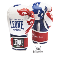 "Leone 1947 Boxing gloves \""Muay Thaï\\"" white images, photos, pictures on Boxing Gloves GN031"