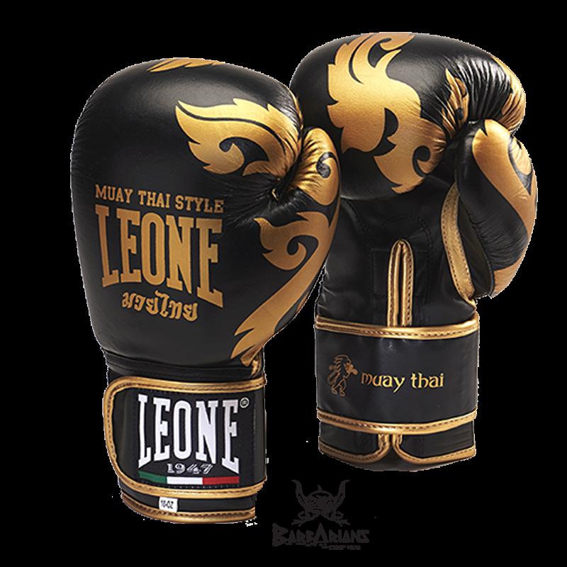 """Super Retrouvez nos Gant de boxe Leone 1947 \\""""Muay Thaï\\"""" Noir chez Bar FO57"""