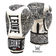 "Leone 1947 Boxing gloves \""Maori\\"" white images, photos, pictures on Boxing Gloves GN070"