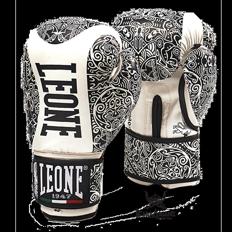 "Très Retrouvez nos Gant de boxe Leone 1947 \\""MAORI\\"" blanc chez Barbar IF17"