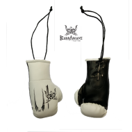 "Key ring Barbarians Fight Wear \""boxing gloves\\"" black images, photos, pictures on Keyring BFW 1"