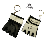 "Key ring Barbarians Fight Wear ""MMA gloves"" black"