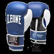 """Photo de Gant de boxe Leone 1947 \\""""FLASH\\"""" bleu pour Gant de Boxe GN083"""