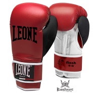 "Photo de Gant de boxe Leone 1947 \""FLASH\\"" rouge pour Gant de Boxe GN083"