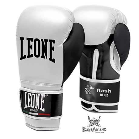 """Leone 1947 Boxing gloves \\""""Flash\\"""" white images, photos, pictures on Boxing Gloves GN083"""