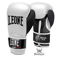 "Photo de Gant de boxe Leone 1947 \""FLASH\\"" blanc pour Gant de Boxe GN083"