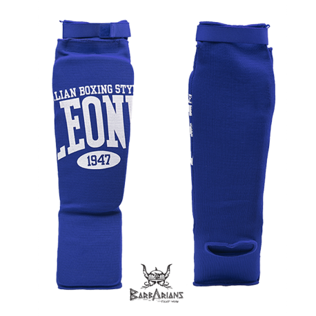 Leone 1947 shinguards cotton blue images, photos, pictures on Shinguards PT133