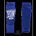 Leone 1947 shinguards cotton blue