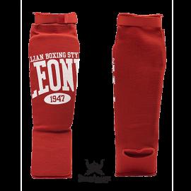 Leone 1947 shinguards cotton red