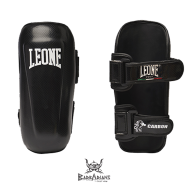 "Leone 1947 Shinguards \""carbon\\"" Black images, photos, pictures on Shinguards PT146"