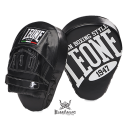 Leone 1947 Punch mitts curved black leather