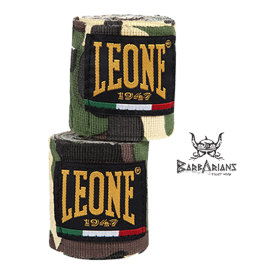 Leone 1947 Boxing Handwraps Green Camouflage