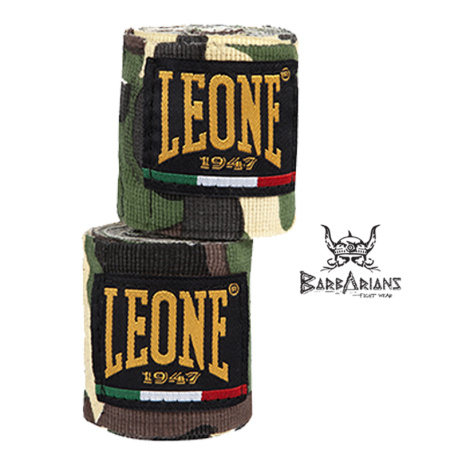 Leone 1947 Boxing Handwraps Green Camouflage images, photos, pictures on Handwraps AB705